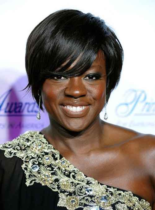 Pictures of Short Hair for Black Women-3