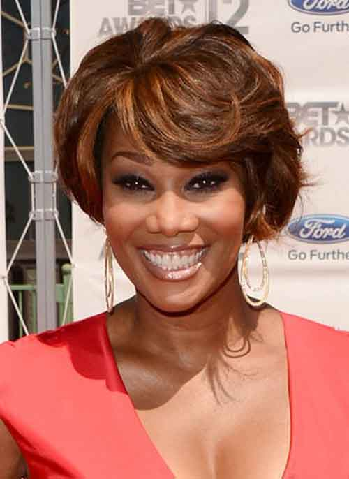 Pictures of Short Hair for Black Women-5