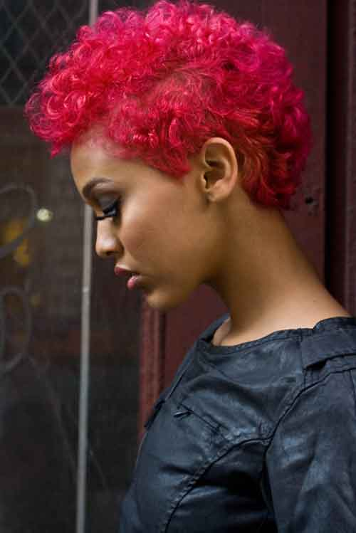 Pictures of Short Hair for Black Women-6