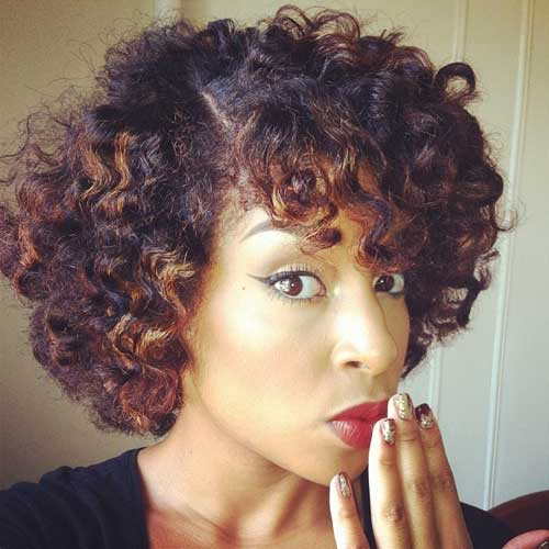 Pictures of Short Hair for Black Women-9