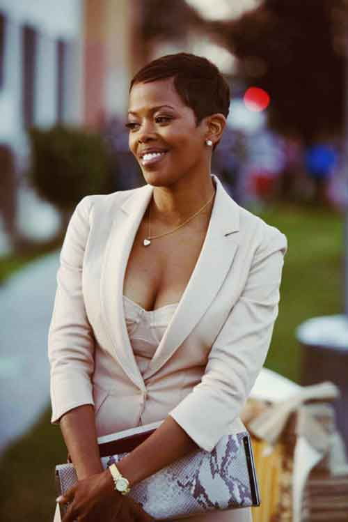 Pixie haircuts for black women 2013