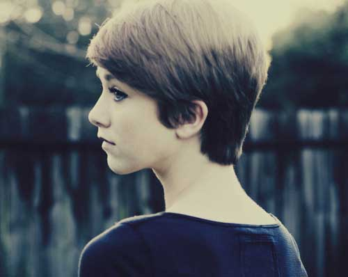 Short pixie haircuts for girls