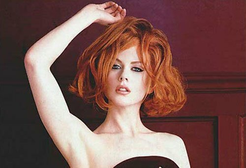 Nicole Kidman short hair