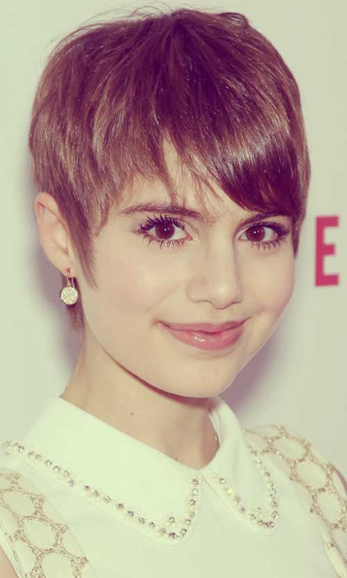 Sami Gayle short cute hair