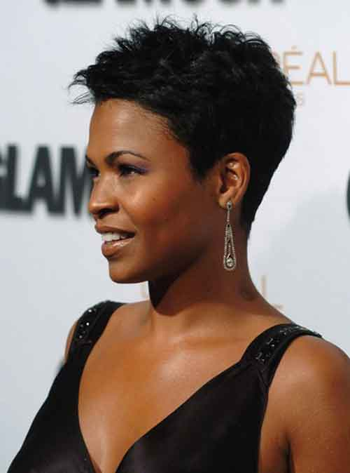 Short sassy haircuts for black women