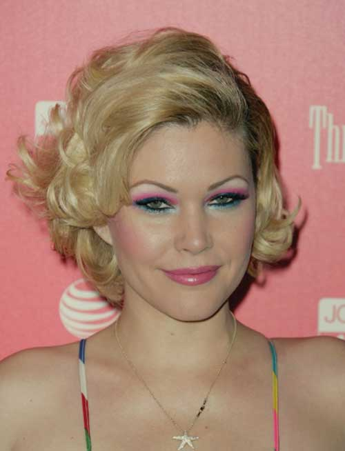 Celebrity short blonde hairstyles