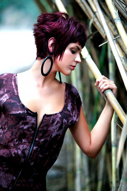 Short Hair Color Styles-12