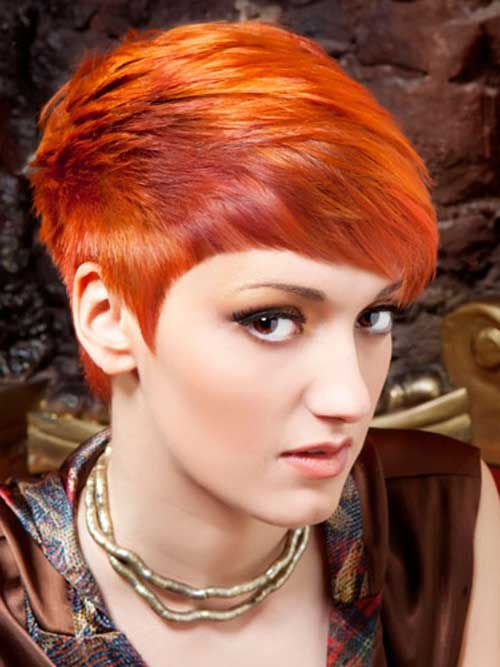 Short Hair Color Styles-16