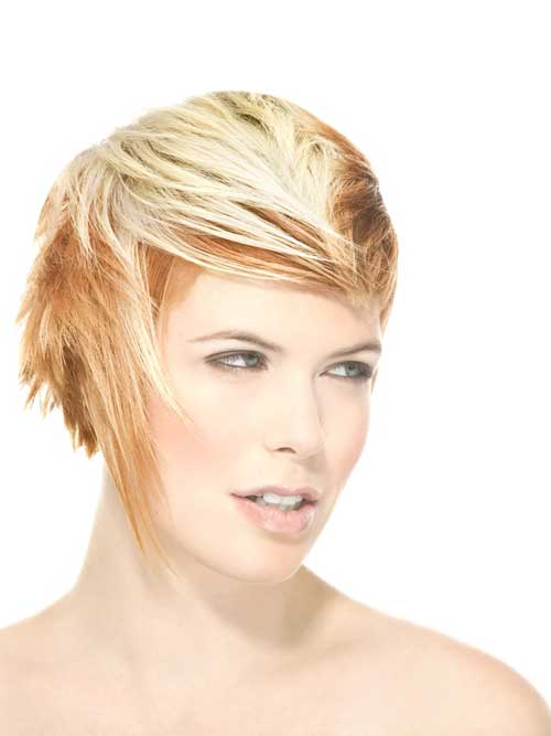 Short Hair Color Styles-18