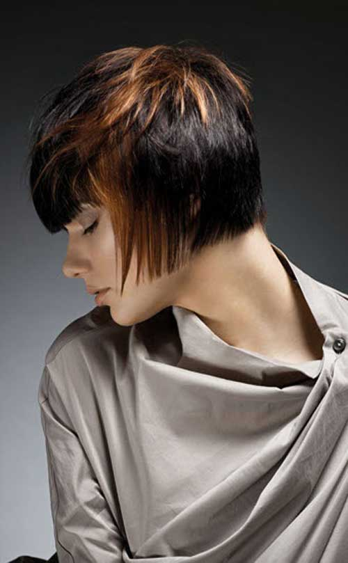 Short Hair Color Styles-3