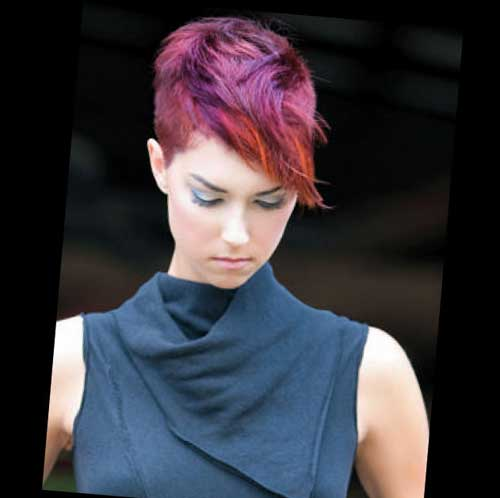 Short Hair Color Styles-5