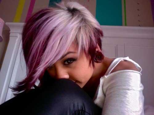 Short Hair Color Styles-8