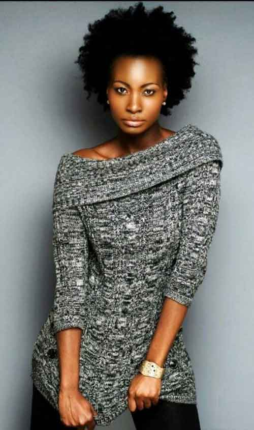 Short Hair for Black Women-9