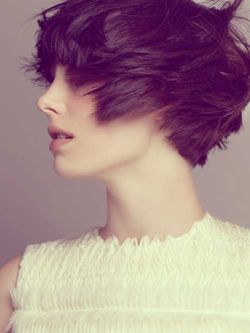 Short Haircuts for Thick Hair-17