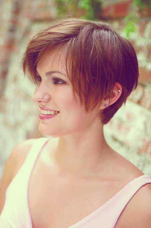 Admirable 35 Short Haircuts For Thick Hair Short Hairstyles 2016 2017 Hairstyles For Women Draintrainus
