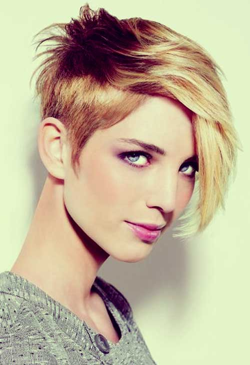 Short Haircuts for Thick Hair-22