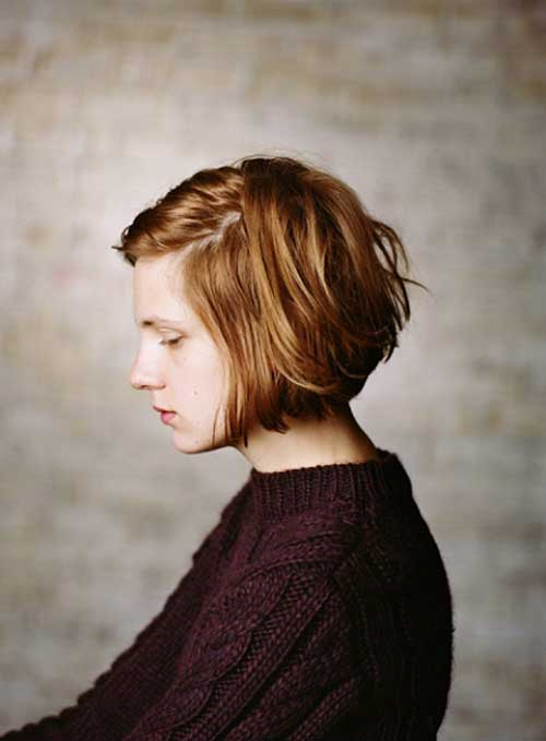 Short Hairstyles for Round Faces-2