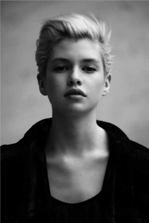Short Hairstyles for Round Faces-3