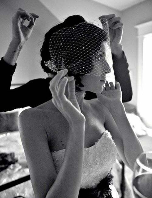 Short Wedding Hairstyles for Women-2