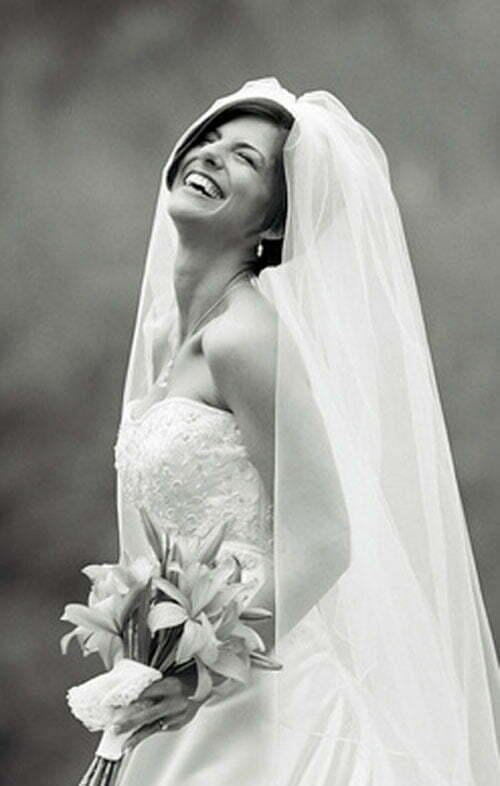 35 Short Wedding Hairstyles For Women