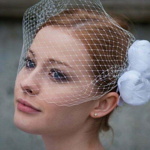 Short Wedding Hairstyles for Women-7