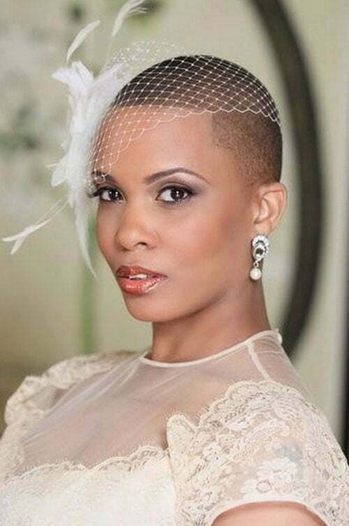 Short Wedding Hairstyles for Women-9