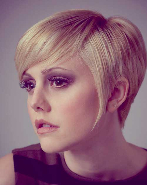 Short blonde hairstyles 2013 women