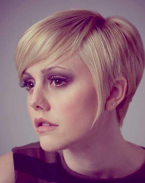 Short blonde hairstyles 2013 women