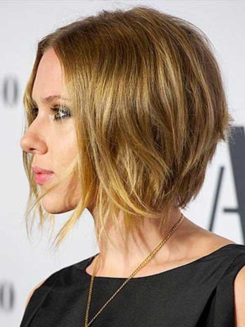 Scarlett Johansson short hair