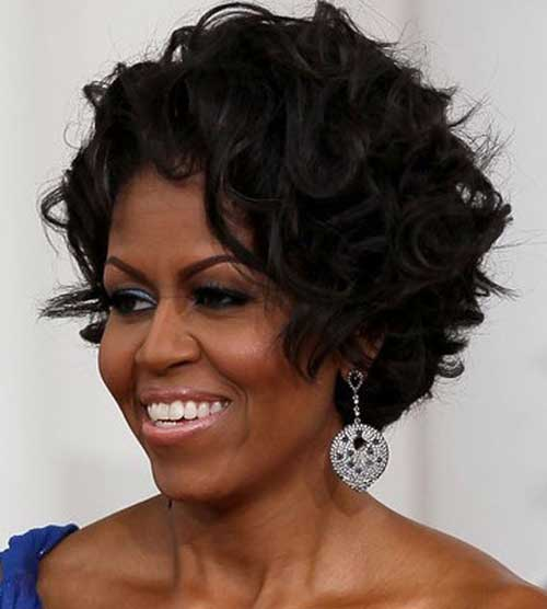 Trendy short hair for black women