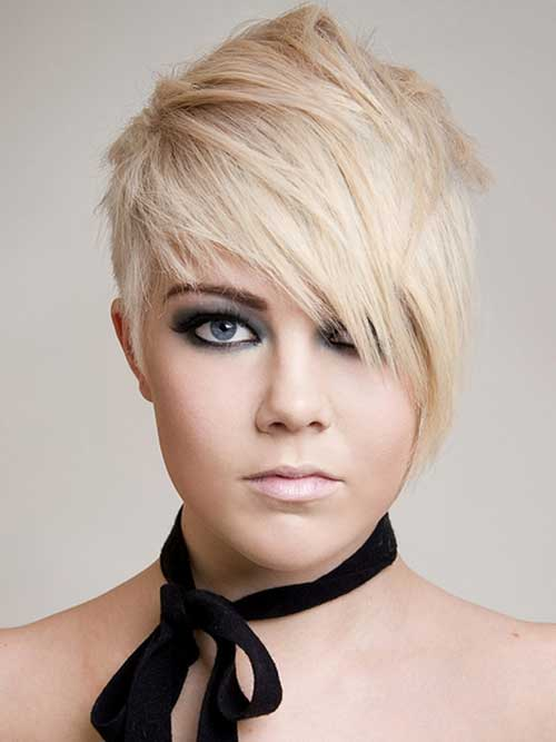 Trendy hairstyles for short hair with bangs