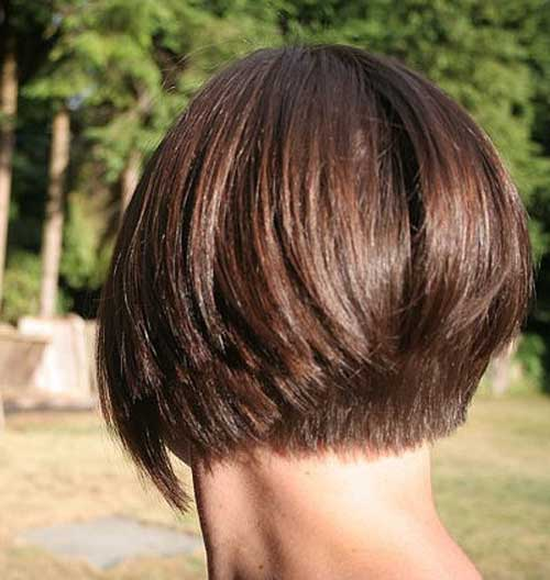 Short inverted bob hairstyles