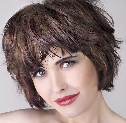 Short razored hairstyles for women
