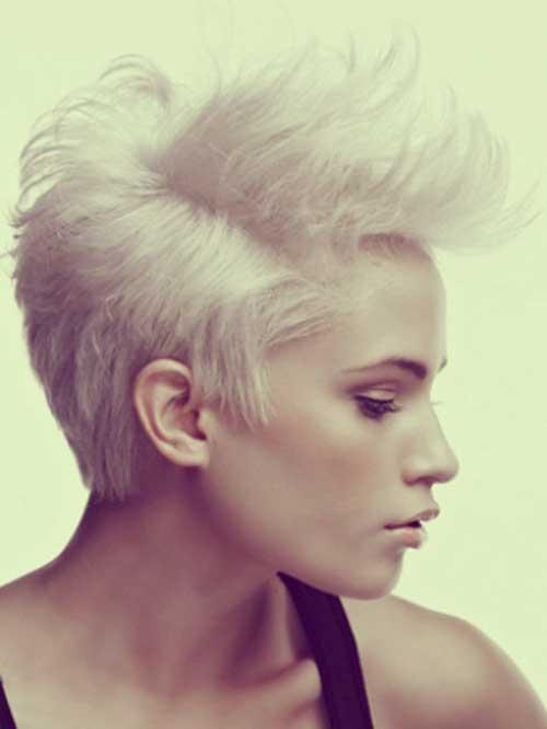 Short silver hair styles