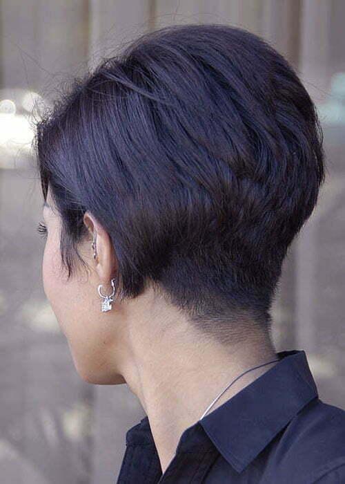 Short stacked bob haircuts 2013