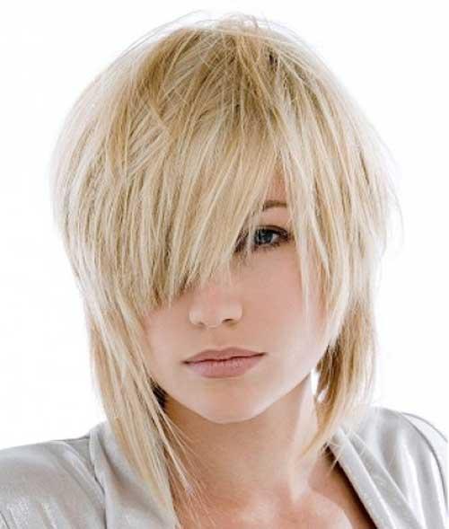 Short straight hairstyles 2013