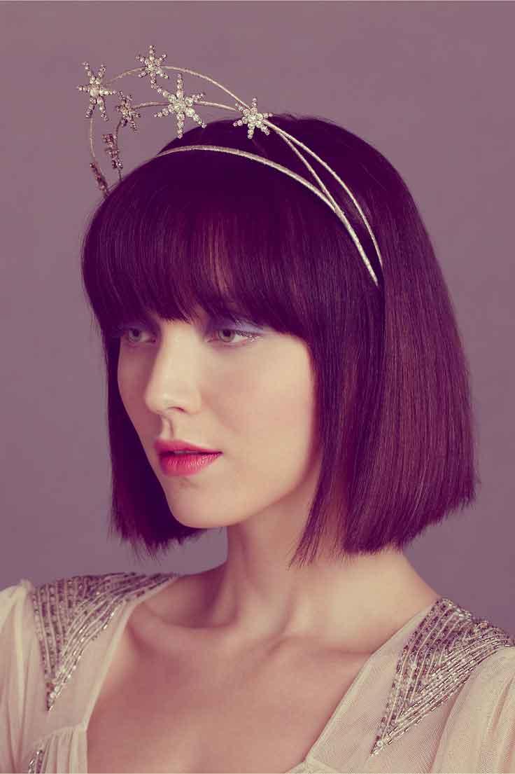 35 short wedding hairstyles for women | short hairstyles 2017 - 2018
