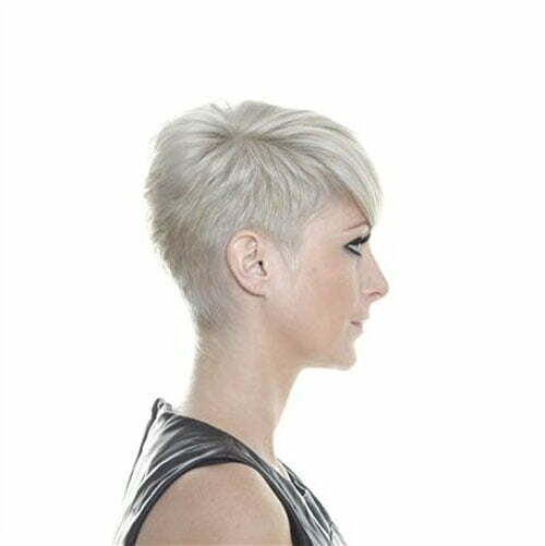 Side View Of Pixie Haircut Hairstyle