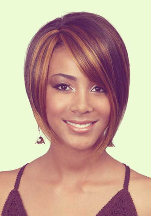 Short sleek hairstyles for black women