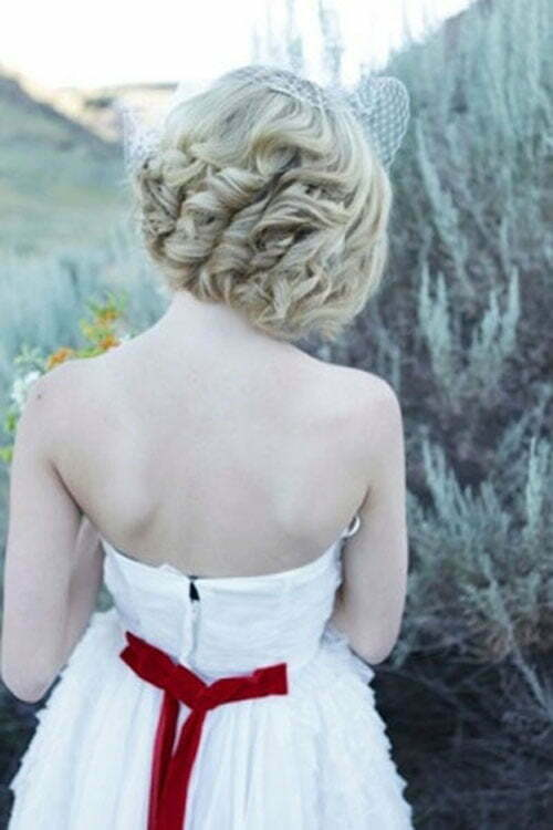 Super Short Wedding Hairstyles-10