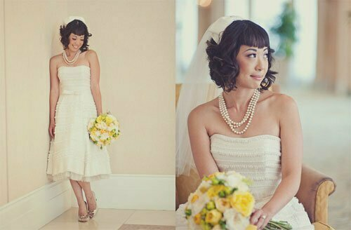 Super Short Wedding Hairstyles-11