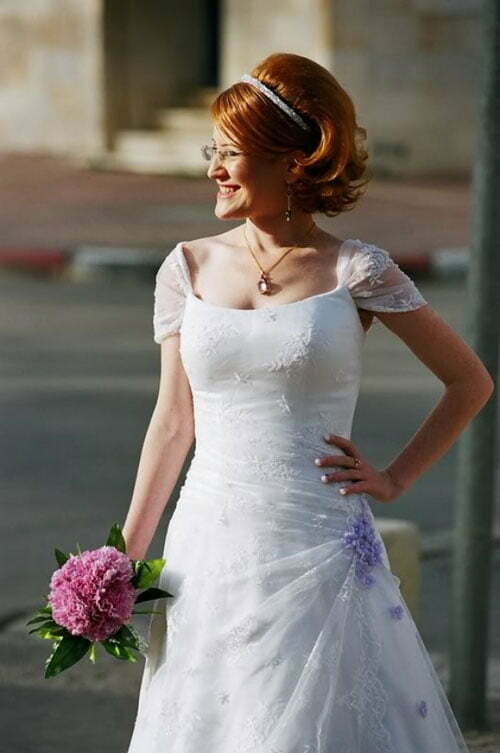Super Short Wedding Hairstyles-13