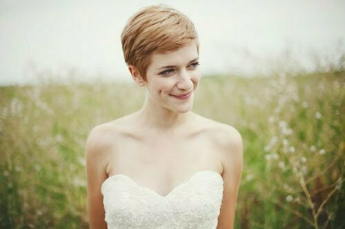 Super Short Wedding Hairstyles-3