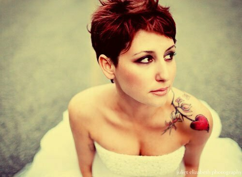 Super Short Wedding Hairstyles-4
