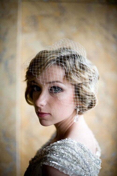 Super Short Wedding Hairstyles-5