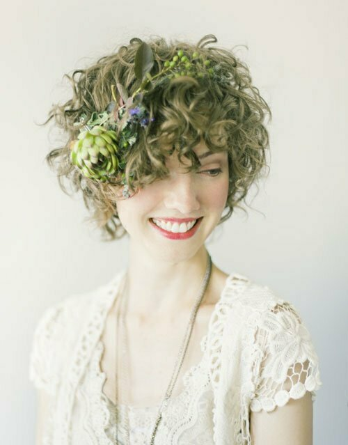 Super Short Wedding Hairstyles-6
