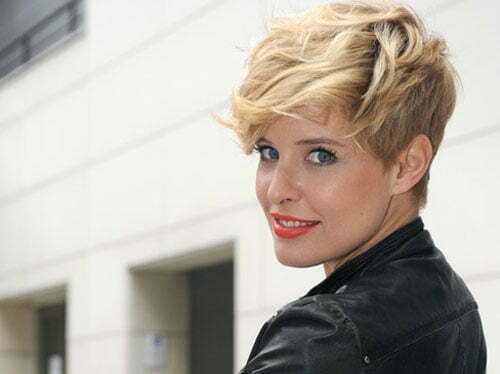 Short trendy celebrity hairstyles