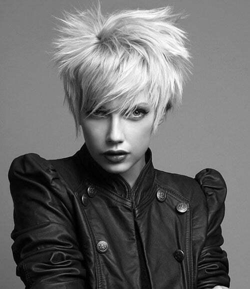 Trendy new short hairstyles