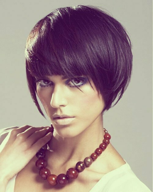 Trendy short bob hairstyles 2013