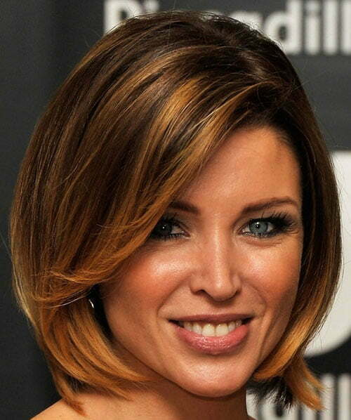 Trendy hair colors for short hair